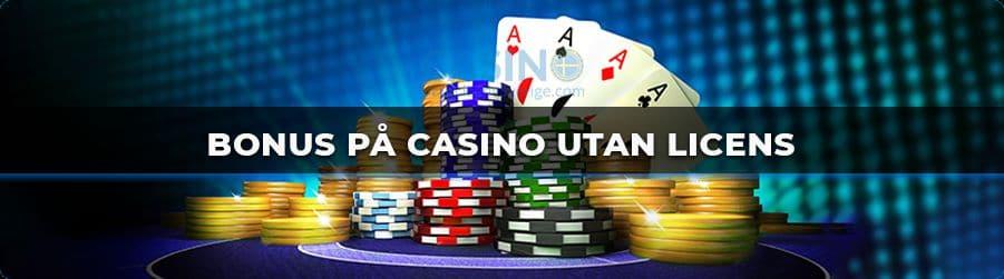 Bonus på Casino Utan Licens banner