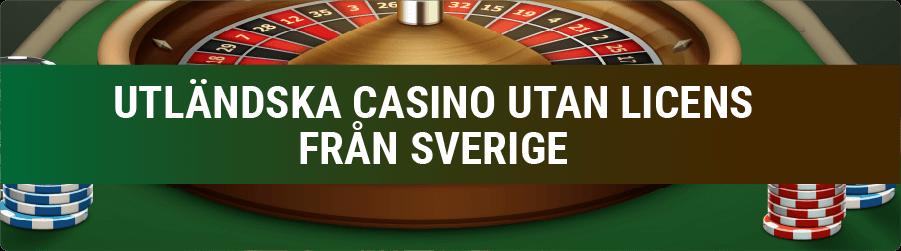 Utländska Casino banner
