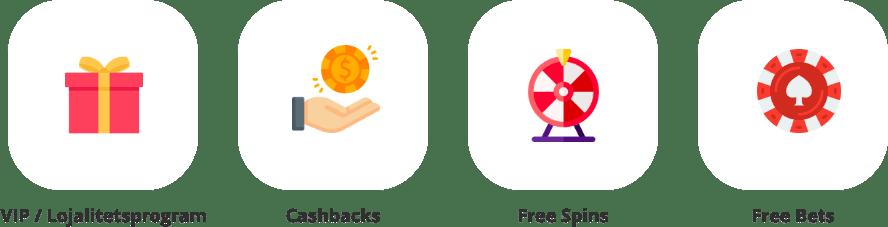 Bonusar på casino utan licens banner